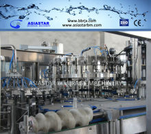 Carbonated filling machine stainless steel water bottle making machines