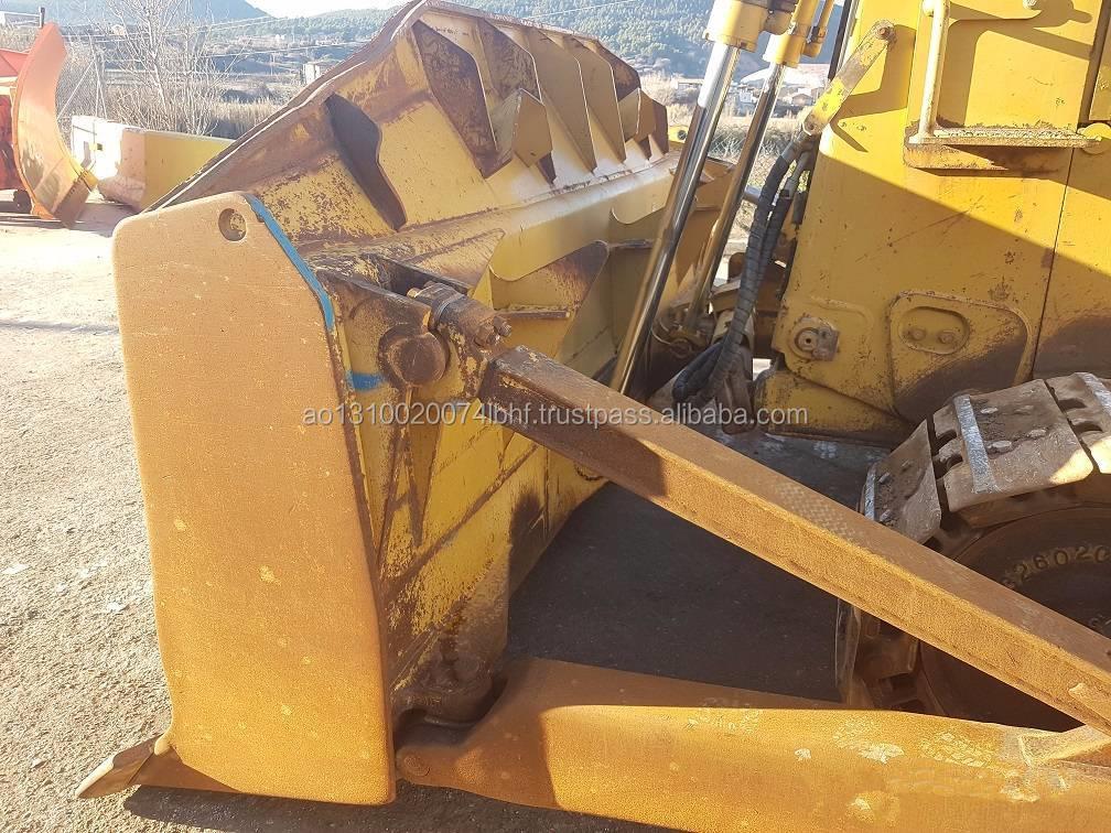 OriginalJapanese Usato Bulldozer Gatto D7H Con Ripper/Caterpillar D5 D6 D7 D8 Bulldozer