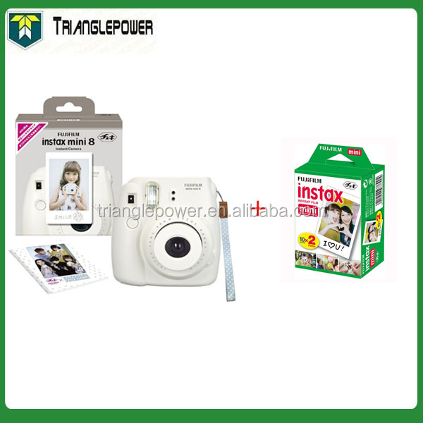 Fujifilm Instax Mini8 + Twin pack Bianco MINI set Cinematografico