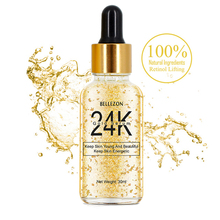 Groothandel Hyaluronzuur Whitening 24 k Actieve Collageen Gold Skin <span class=keywords><strong>Gezicht</strong></span> <span class=keywords><strong>Serum</strong></span>