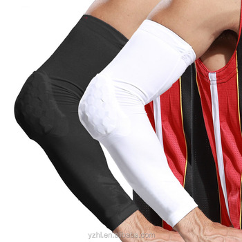 Sport adjustable Honeycomb Arm Sleeve / Honeycomb Elbow Support