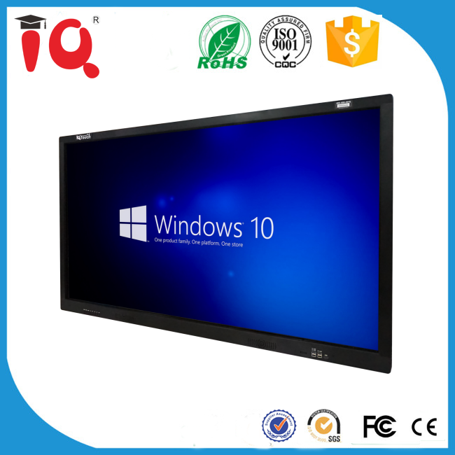 10 Touch Price of Portable interactive white board Touch Screen Display