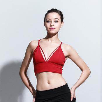 8e7d1e603d8 Girl Sexy Japan Colorful Cut Invisible Sleeping Sport Yoga Bra - Buy ...
