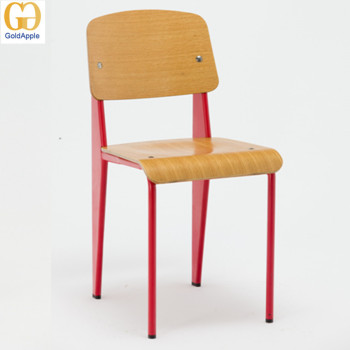 Replica Jean Prouve Plywood Standard Dining Chairs, Cafe Dining Chair