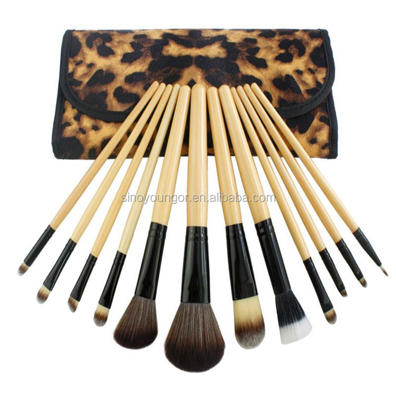 12 stks make up tool kit, professionele make up brush set Voor vrouwen gift