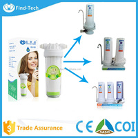 Home use three stages in one water filter counter top water purifier with economy price