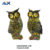 Lifelike High Quality Finished Resin Owl Statue For Home Decoration