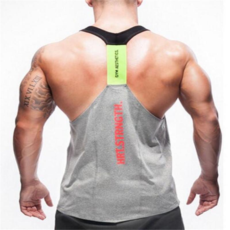 Brand new shark tank top men's bodybuilding fitness man stringer clothes shark sweatshirt