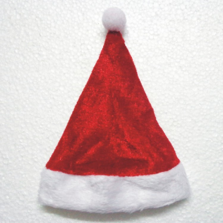 custom cheap price hot selling promotional christmas santa hats for children