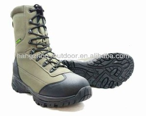 Mens breathable Knee High Waterproof Hunting Boots