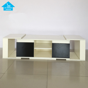 Modern tv cabinet designs living room wall tv stand with showcase