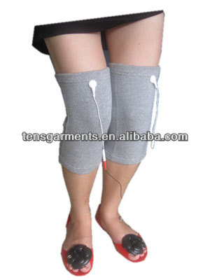 Tens Knee Support for Tens Physiotherapy Machine ,Silver Fiber