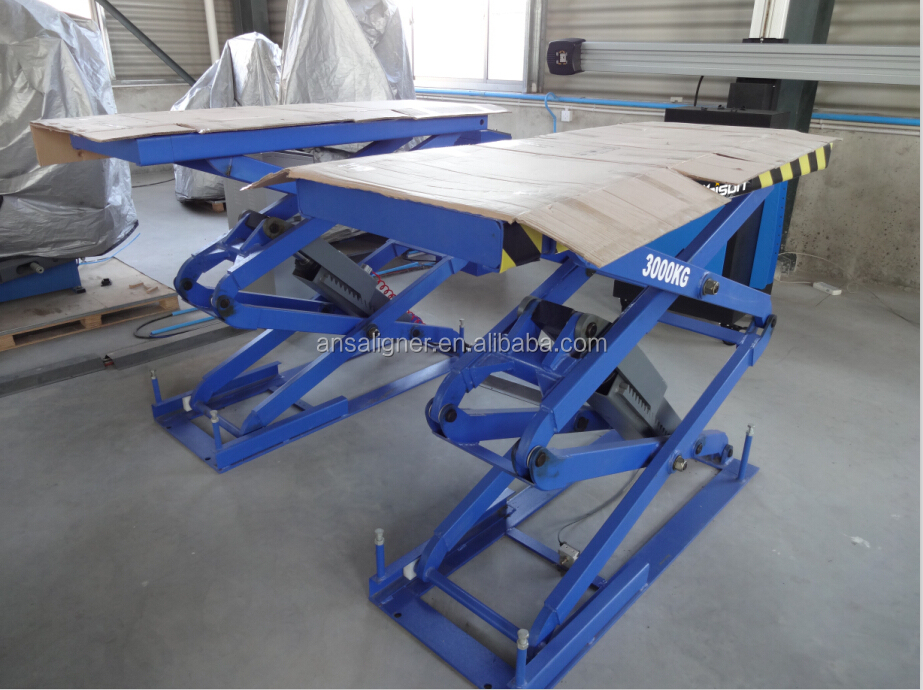 Hydraulic Auto Lifts : In floor car lift gurus