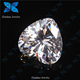 white heart cutting cubic zirconia big cubic zirconia stone/crystal white stone/cubic zirconia natural white stone