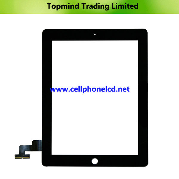 Tablet PC Parts for iPad 2 Black Touch Panel