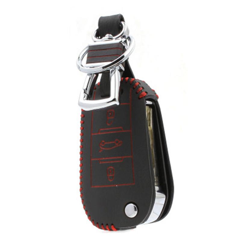 L60 специальный ручной кожаный автомобиль ключ чехол женщины и мужчины изменение складной ключ дистанционного управления пряжки корпус