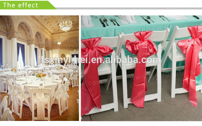 Promotional plastic dining table and chair