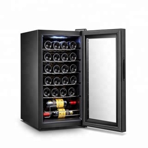 New style build-in Compressor Wine Coolers / Cellars / Refrigerators 24 bottles single zone