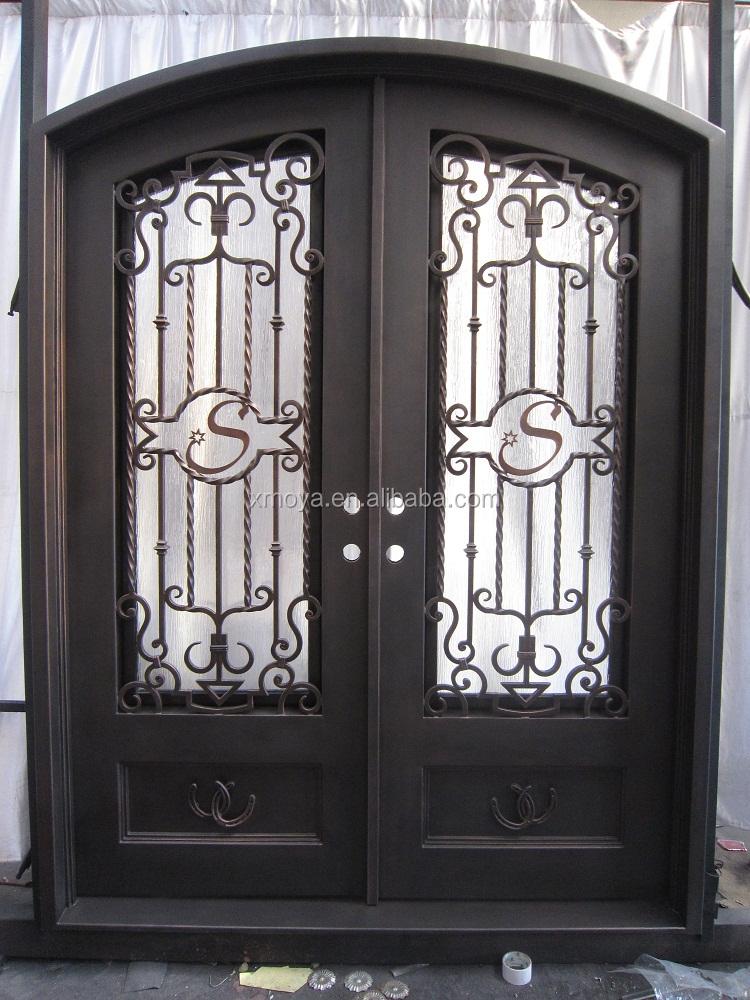 Rejas de hierro para puertas fachadas de casas con rejas - Puertas de metal para casas ...