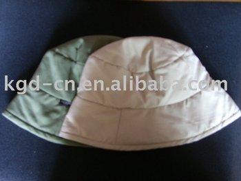 bf926699310cb Winter Flossy Padded Bucket Hat
