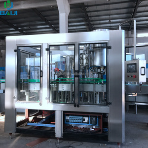 Automatic small size glass bottle beer filler / bottling machine / production line