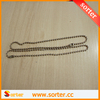 Unique 1.5mm stainless steel metal ball necklace