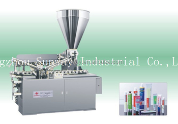 Aluminum Tube Fill and Seal Machine for Ointment Packaging