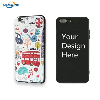 Maxshine custom phone cases design your own mobile phone case For Iphone 6 7 8 X Xr Xs Max design phone case