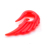2017 fashion jewelry acrylic ear plugs red angel wing ear spiral piercing taper