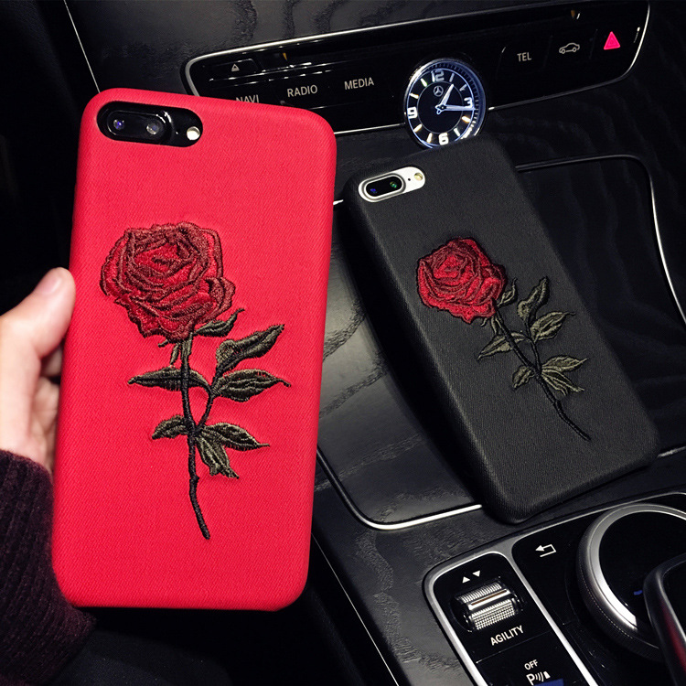 2019 newest product Rose Phone <strong>Case</strong> For Iphone 7 Plus For iPhone XS max Smartphone Cover <strong>case</strong>