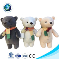 Super Soft Velvet Stuffed Toys With Special Polyester Bears For Kids Children Birthday Gift Best Quality
