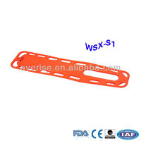 WSX-S1 X-ray translucency HDPE Spine Board,Water Rescue Backboard