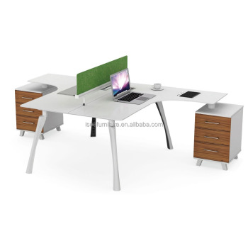 2 Person Office Desk Seat Modular Furniture Workstation Ic2024