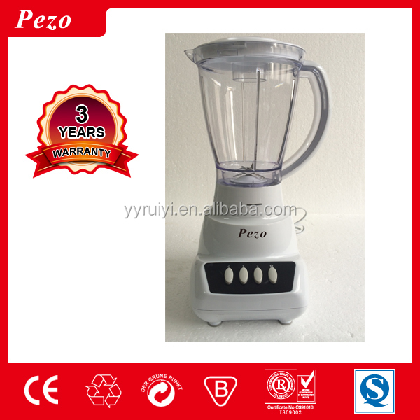 pezo705A 1.5 liters large capacity plastic cup soybean milk blender