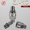 ZJ-KC high pressure washer stainless steel male thread hydraulic nipple fitting