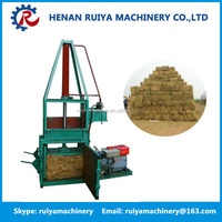 Baler machine/hay and straw baler machine/sawdust wood shavings press baler machine