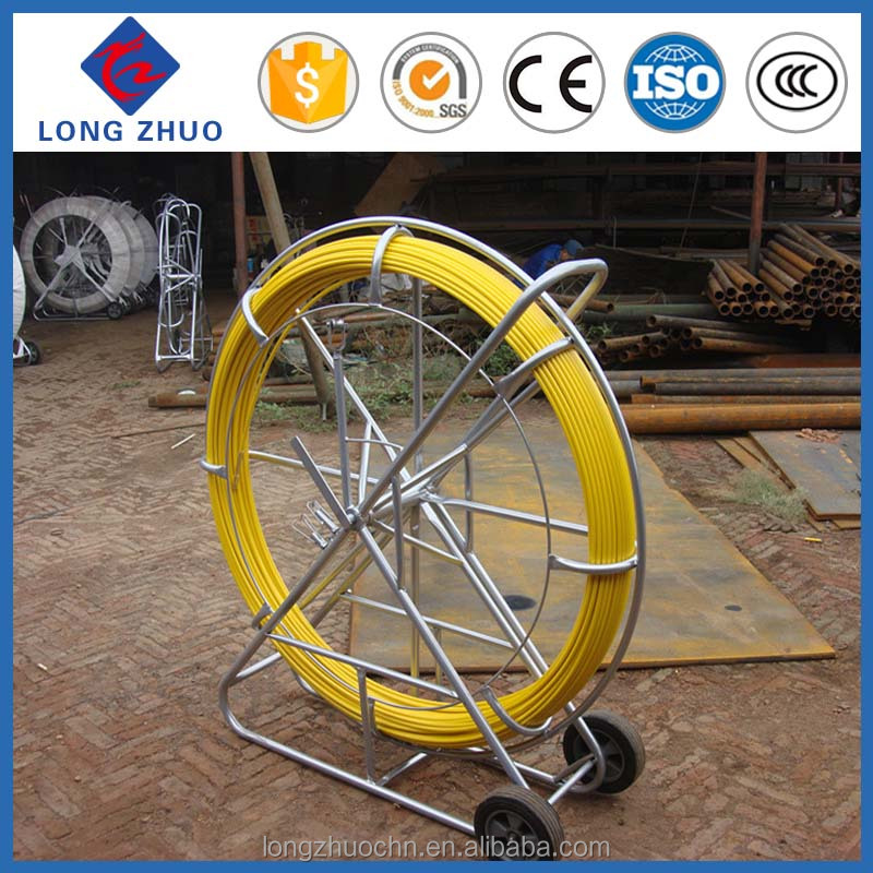 300 m fiberglass duct rodder, electric cable rodders