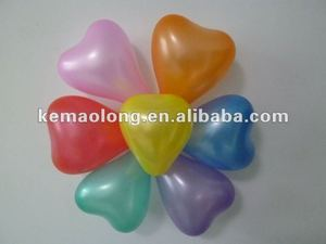 variety colors pearly balloon decor