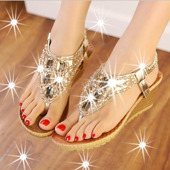 Ladies Sandal,Fashion Women Wedge Shoes
