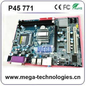 Intel P45/P35 MOTHERMOARD G41 DDR3 support LGA771 CPU