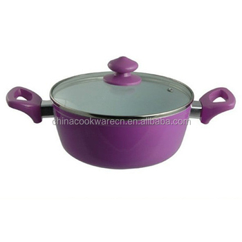 Korean Aluminum Forged Ceramic Pot With Lid Buy Forged