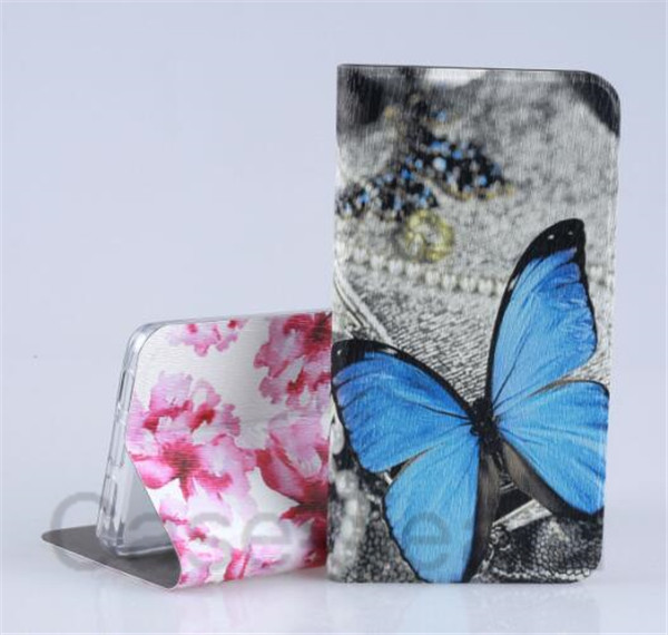 Colorful Leather Case for Nokia 5.1 Plus case, for Nokia 5.1 Plus Leather case, Cartoon Flower case for Nokia 5.1 Plus cover