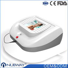 Continuous and pulsed two modes portable varicose veins machine