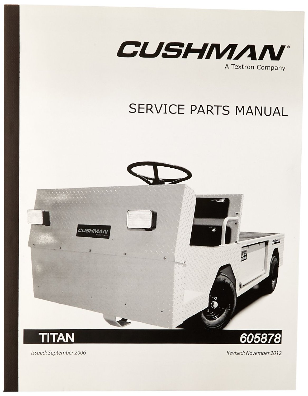 Cheap Cushman Utility Vehicle Find Deals On Minute Miser Wiring Diagram Get Quotations Ezgo 605878 2005 Service Parts Manual For Titan