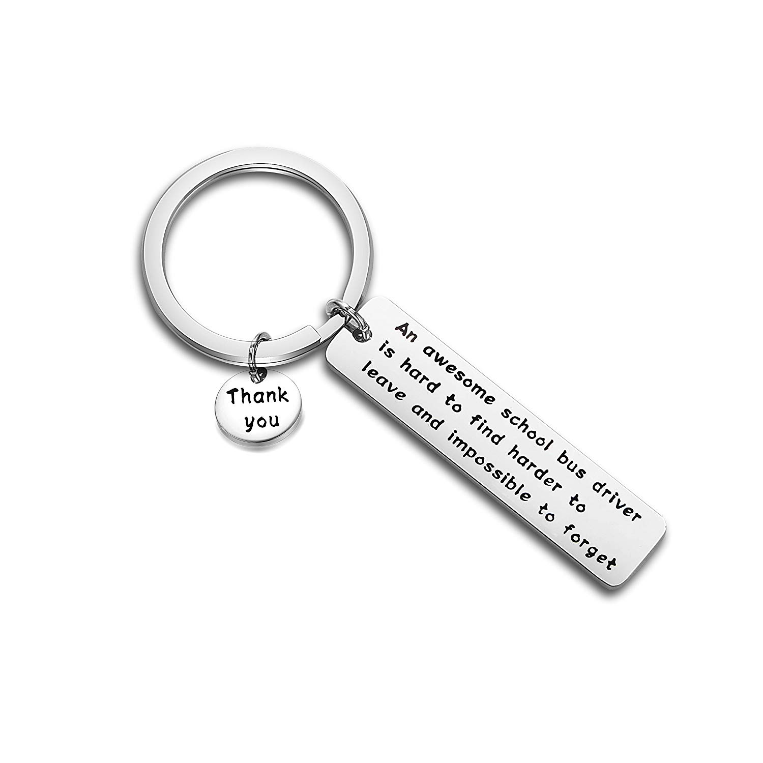 Drive Safe Keychain, Personalized Anniversary Gifts for Men