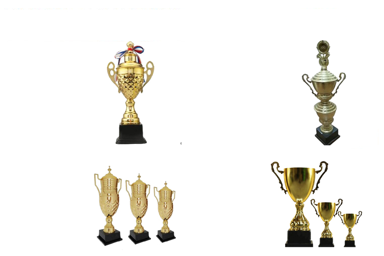 Popular new trophy from factory shield award trophy grammy award trophy sell on alibaba