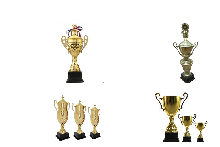 Super quality custom design gold award metal nice  trophy cup