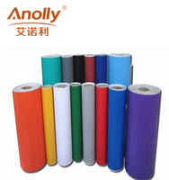 Anolly Color Vinyl Rolls Black Matt Graphic Adhesive Cutting Vinyl on Cricut