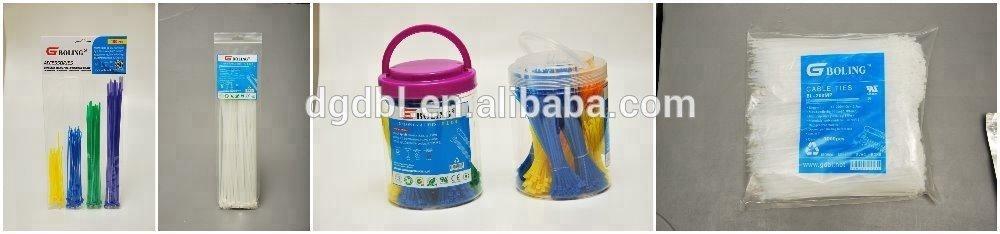 quality 100% nylon 66 cable ties UV resistant