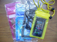 PVC cheap mobile phone waterproof bag for promotion